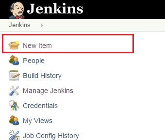 Jenkins New Job