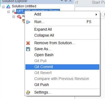 UFT GIT Integration | Automation Insights