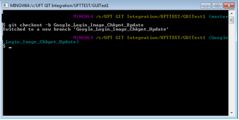 UFT GIT Integration | Automation Insights